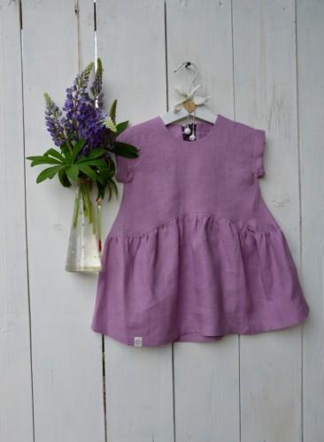 """Lininė vaikiška suknelė """"Alyva"""""""