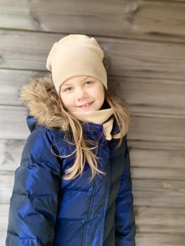 Vėlyvo rudens/žiemos kepuriuko komplektas